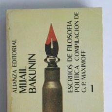 Libros de segunda mano: ESCRITOS DE FILOSOFÍA POLÍTICA COMPILACIÓN DE G.P. MAXIMOFF. Lote 276360518