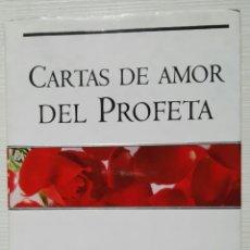 Libros de segunda mano: CARTAS DE AMOR DEL PROFETA KHALIL GIBRAN. Lote 276413223