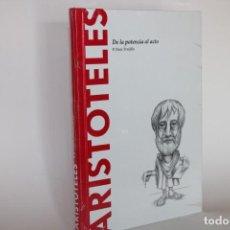 Libros de segunda mano: ARISTOTELES,DE LA POTENCIA AL ACTO / P.RUIZ TRUJILLO / SIN DESPRECINTAR. Lote 276946258