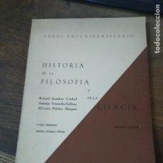 Libros de segunda mano: HITORIA DE LA FILOSOFIA I DE LA CIENCIA, RAFAEL GAMBRA CIUDAD. L- 25968. Lote 276948608