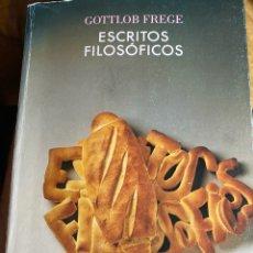 Libros de segunda mano: ESCRITOS FILOSÓFICOS, FREGE. Lote 277035628