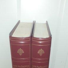 Libros de segunda mano: LOS FILOSOFOS PRESOCRATICOS.I,II.BIBLIOTECA GREDOS. Lote 277260453