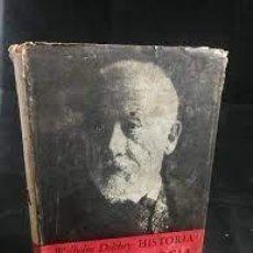 Libros de segunda mano: HISTORIA DE LA FILOSOFÍA WILHELM DILTHEY BREVIARIOS FCE. Lote 277290258