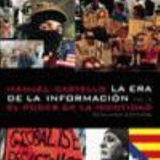 Libros de segunda mano: LA ERA DE LA INFORMACIÓN. ECONOMÍA, SOCIEDAD Y CULTURA. - CASTELLS, MANUEL.. Lote 277683833
