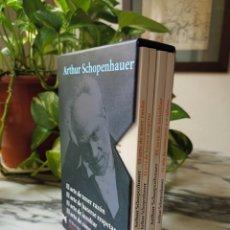 Libros de segunda mano: ARTHUR SCHOPENHAUER - EL ARTE DE TENER RAZÓN, HACERSE RESPETAR, INSULTAR Y CONOCERSE A SI MISMO. Lote 277700308