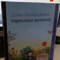 Libros de segunda mano: INGENUIDAD APRENDIDA - GOMÁ LANZÓN, JAVIER. Lote 277717383