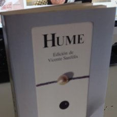 Libros de segunda mano: HUME TEXTOS CARDINALES - EDICIÓN DE VICENTE SANFÉLIX. Lote 277762038
