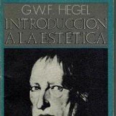 Libros de segunda mano: INTRODUCCION A LA ESTETICA - G.W.F. HEGEL. Lote 277837408