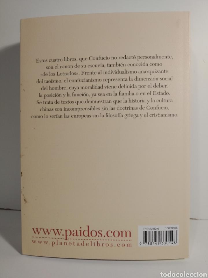 Libros de segunda mano: LOS CUATRO LIBROS. TRADUCCIÓN, INTRODUCCIÓN Y NOTAS A CARGO DE JOAQUÍN PÉREZ ARROYO CONFUCIO. - Foto 2 - 278301403