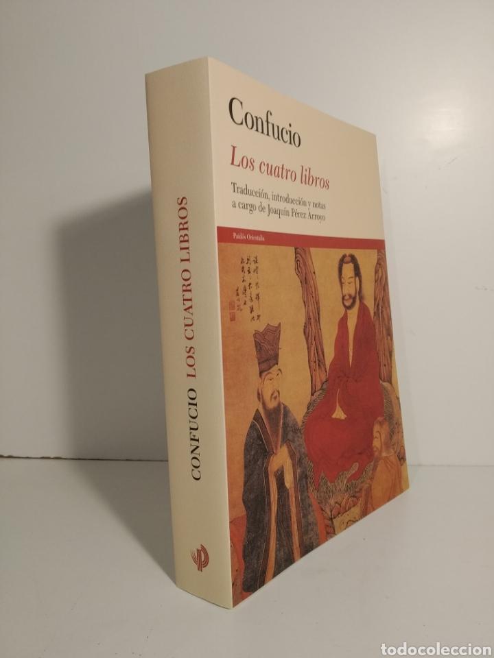 Libros de segunda mano: LOS CUATRO LIBROS. TRADUCCIÓN, INTRODUCCIÓN Y NOTAS A CARGO DE JOAQUÍN PÉREZ ARROYO CONFUCIO. - Foto 3 - 278301403