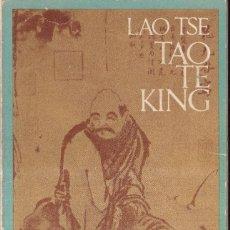 Libros de segunda mano: TAO TE KING - LAO TSE - BARRAL EDITORES 1972. Lote 278480183
