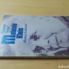 Libros de segunda mano: HANNA SEGAL / MELANIE KLEIN / ALIANZA / AL81. Lote 278805903