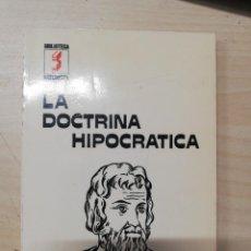 Libros de segunda mano: LA DOCTRINA HIPOCRÁTICA - SINTES, JORDI. 1979. Lote 279460548