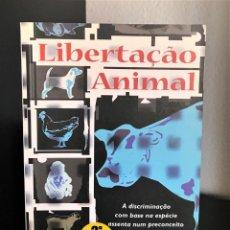 Libros de segunda mano: LIBERTAÇÃO ANIMAL DE PETER SINGER. Lote 279474983