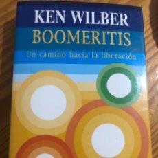 Libros de segunda mano: LIBRO KEN WILBER BOOMERITIS UN CAMINO HACIA LA LIBERACION EDITORIAL CAIROS ESPIRITUALIDAD INTEGRAL. Lote 279558588