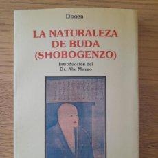 Libros de segunda mano: SHOBOGENZO (LA NATURALEZA DE BUDA) DOGEN; MASAO, ABE. OBELISCO, BARCELONA, 1989. RARO. Lote 283896113
