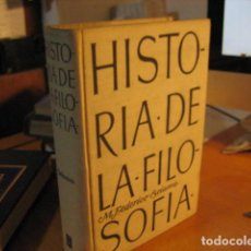 Libros de segunda mano: HISTORIA DE LA FILOSOFÍA - M. FEDERICO SCIACCA - LUIS MIRACLE, EDITOR 1958. Lote 287161898