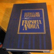 Libros de segunda mano: HISTORIA DEL PENSAMIENTO. FILOSOFÍA ANTIGUA. VOLUMEN 1. ABBAGNANO. HISTORIA DE LA FILOSOFÍA.. Lote 287162173