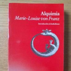 Libros de segunda mano: ALQUIMIA, MARIE-LOUISE VON FRANZ, ED. LUCIERNADA, 1991. MUY RARO. Lote 287541838