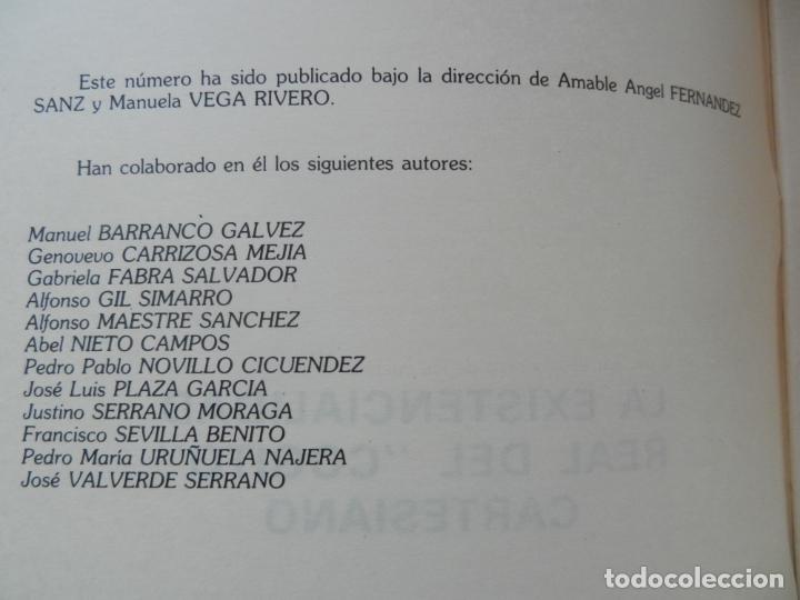 Libros de segunda mano: COLECCIÓN HISTORIA DE LA FILOSOFÍA- Nº 10 -LA EXISTENCIALIDAD REAL DEL COGITO CARTESIANO -1985 - Foto 2 - 287995158