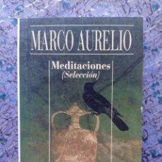 Libros de segunda mano: MEDITACIONES SELECCIÓN. MARCO AURELIO. ALIANZA CIEN. Lote 288575588