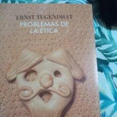 Libros de segunda mano: PROBLEMAS DE LA ÉTICA DE ERNST TUGENDHAT ED. CRÍTICA. Lote 288718743