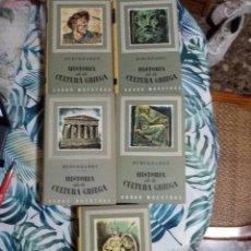 Libros de segunda mano: HISTORIA DE LA CULTURA GRIEGA - BURCKHARDT CINCO TOMOS ED IBERIA, 1971. Lote 288720403