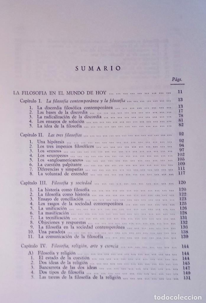 Libros de segunda mano: JOSÉ FERRATER MORA - OBRAS SELECTAS, 2 - REVISTA DE OCCIDENTE, 1967 - Foto 2 - 288722148