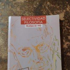 Libros de segunda mano: C.O.U. (I. IZUZQUIZA OTERO) (SELECTIVIDAD FILOSOFÍA, PRUEBAS DE 1990) (ANAYA). Lote 289539078