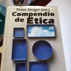 Libros de segunda mano: COMPENDIO DE ÉTICA (ALIANZA DICCIONARIOS) DE PETER SINGER. Lote 293242918