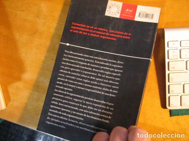 Libros de segunda mano: LAS CLAVES DE LA ARGUMENTACION / ANTHONY WESTON / ARIEL - Foto 3 - 293669973
