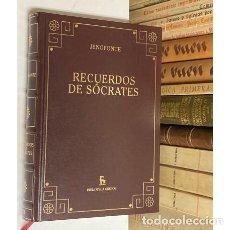 Libros de segunda mano: AÑO 2006 - RECUERDOS DE SÓCRATES POR JENOFONTE - BIBLIOTECA GREDOS. Lote 293803588