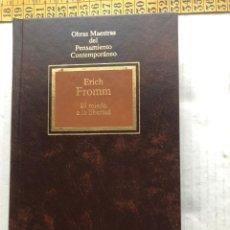 Libros de segunda mano: EL MIEDO A LA LIBERTAD ERICH FROMM PENSAMIENTO CONTEMPORANEO - LIBRO KREATEN. Lote 297155698