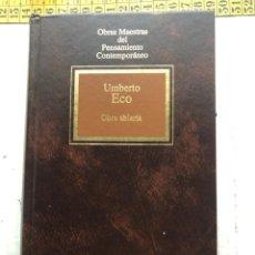 Libros de segunda mano: OBRA ABIERTA UMBERTO ECO PENSAMIENTO CONTEMPORANEO - LIBRO KREATEN. Lote 297156658