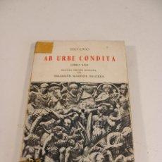 Libros de segunda mano: AB URBE CONDITA - LIBRO 25 - TITOLIVIO - TEXTOS CLÁSICOS GREDOS - LATÍN. Lote 297160548