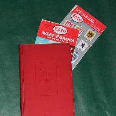 Libros de segunda mano: ALEMANIA ATLAS DE CARRETERAS - ESSO REISE ATLAS FUR KRAFTFAHRER 1956. Lote 3330203