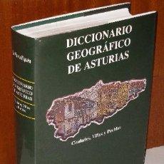 Libros de segunda mano: DICCIONARIO GEOGRÁFICO DE ASTURIAS POR JAVIER RODRÍGUEZ MUÑOZ DE PRENSA ASTURIANA EN 2000. Lote 36931930