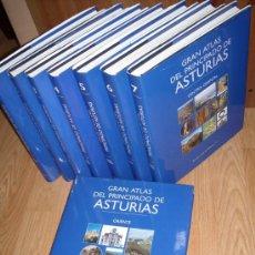 Libros de segunda mano: GRAN ATLAS DEL PRINCIPADO DE ASTURIAS 8T DE HERCULES ASTUR EN OVIEDO 1996. Lote 20584151