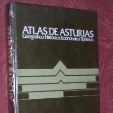 Libros de segunda mano: ATLAS DE ASTURIAS: GEOGRÁFICO, HISTÓRICO, ECONÓMICO Y TURÍSTICO DE EDICIONES AYALGA EN VITORIA 1977. Lote 17681059