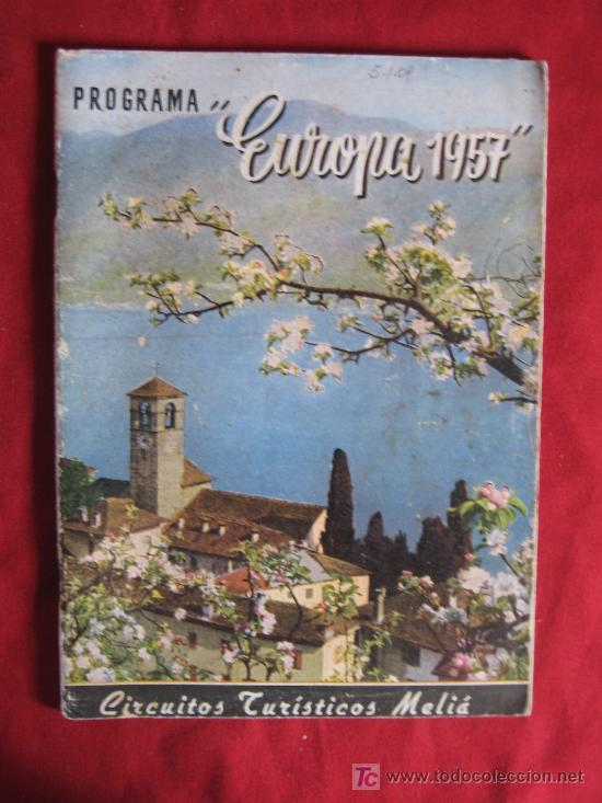 EUROPA 1957 (Libros de Segunda Mano - Geografía y Viajes)