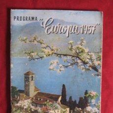 Libros de segunda mano: EUROPA 1957. Lote 16332584