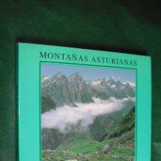 Libros de segunda mano: MONTAÑAS ASTURIANAS - FOTOGRAFIAS DE JOSE LUIS FERNANDEZ. Lote 16607030