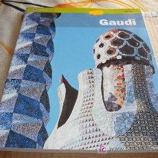 Libros de segunda mano: LIBRO GUIA VIAJES: GAUDI EN INGLES. Lote 100568586