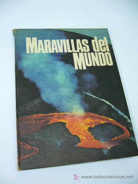 LIBRO MARAVILLAS DEL MUNDO, GRAN FORMATO (Libros de Segunda Mano - Geografía y Viajes)