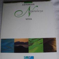 Libros de segunda mano: ASTURIAS NATURALEZ VIVA. LUIS MARIO ARCE. GRAN FORMATO. Lote 27194360