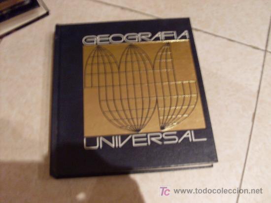 GEOGRAFIA UNIVERSAL (Libros de Segunda Mano - Geografía y Viajes)