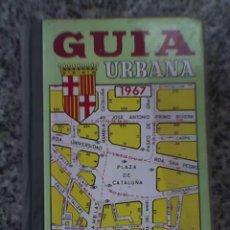 Libros de segunda mano: GUIA URBANA DE BARCELONA - JOSÉ PAMIAS RUIZ EDITOR - 1967 - ESPAÑA - COMO NUEVA!!. Lote 58286342