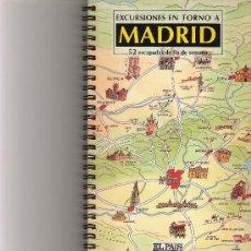 Libros de segunda mano: EXCURSIONES EN TORNO A MADRID - 52 ESCAPADAS DE FIN DE SEMANA - EL PAIS AGUILAR. Lote 41457433