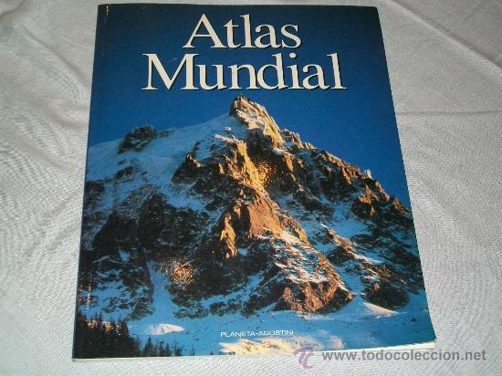 ATLAS MUNDIAL - PLANETA AGOSTINI 1993 - COLOR (Libros de Segunda Mano - Geografía y Viajes)
