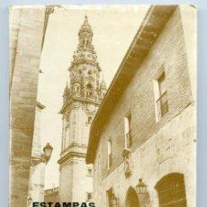 Libros de segunda mano: ESTAMPAS CALCEATENSES (1978) - SANTO DOMINGO DE LA CALZADA (LA RIOJA). Lote 27038259